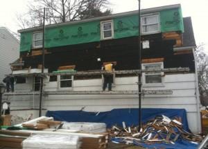 how to install vinyl siding in NJ passaic county